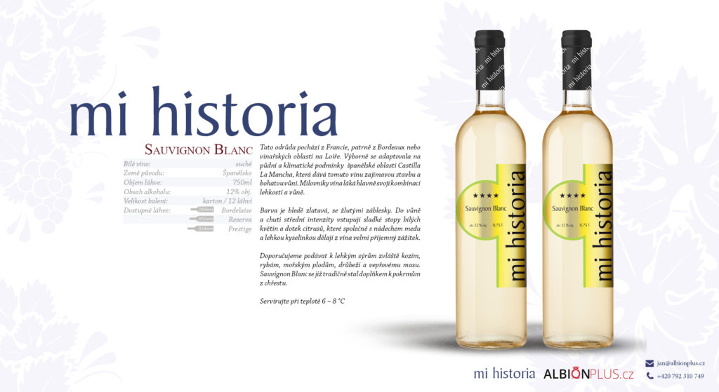 Mi Historia Sauvignon Blanc