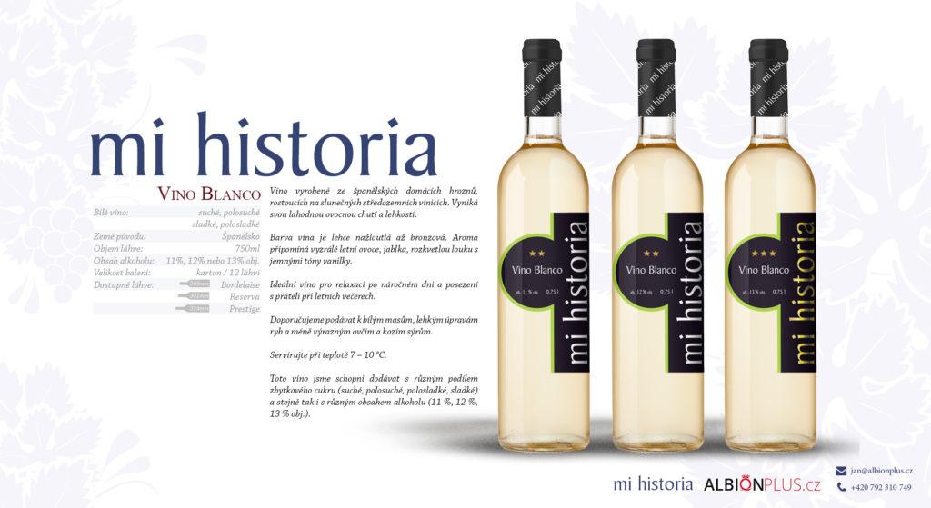 Mi Historia Vino Blanco