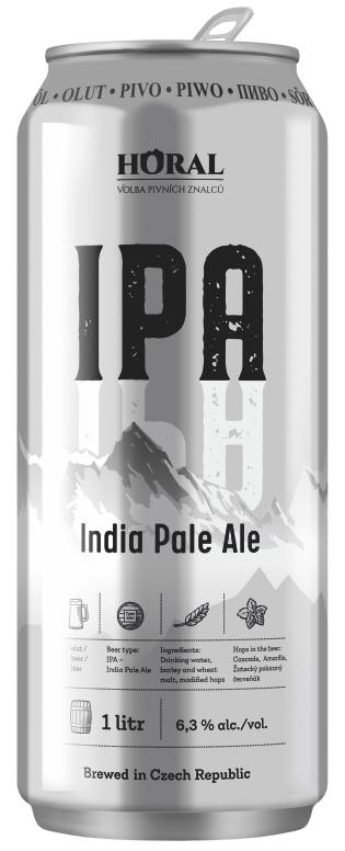 """""""HORAL"""" – pivní speciál IPA, 1000 ml"""